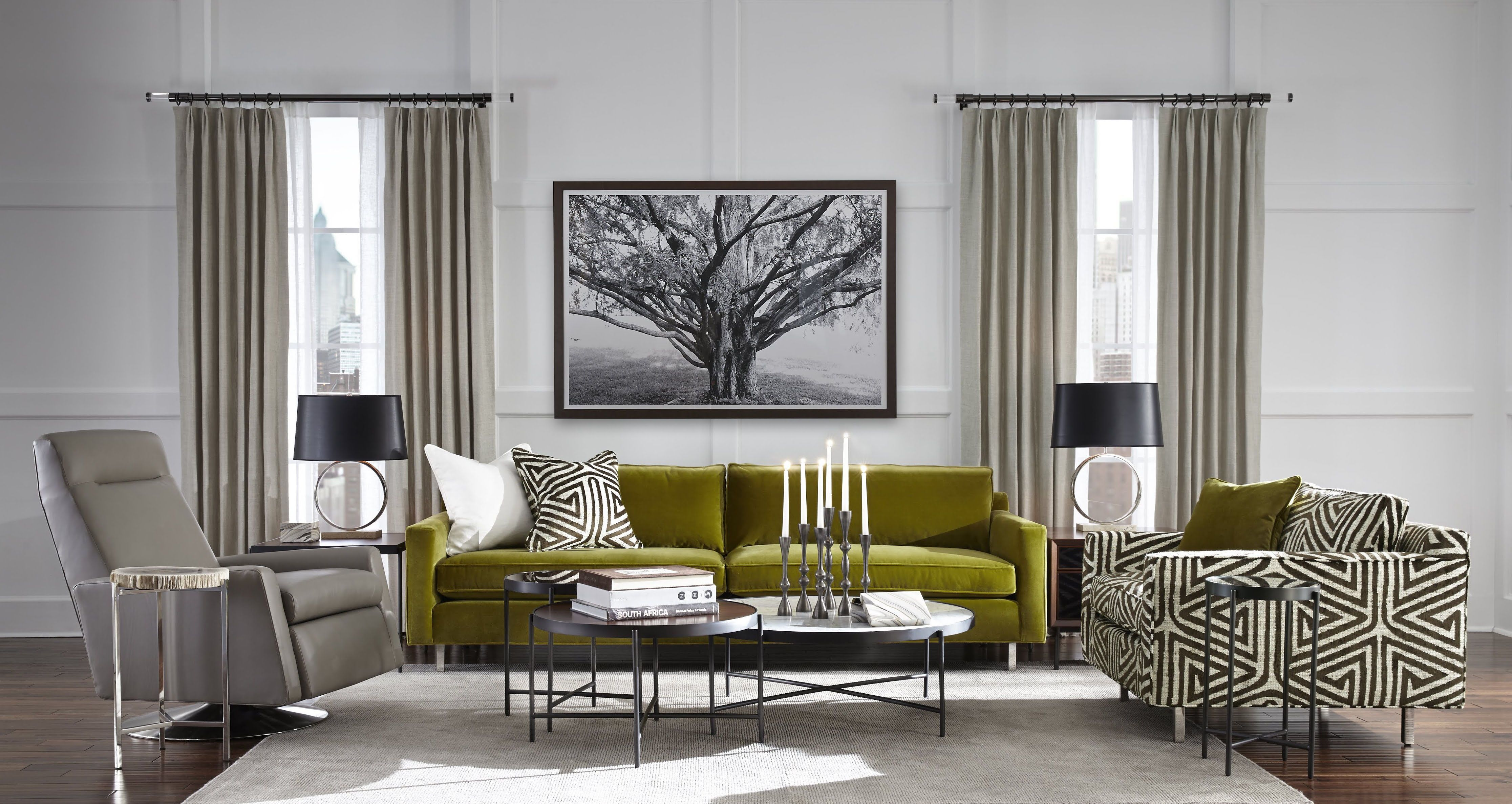 Hunter Sofa Mitchell Gold Bob Williams Comfortable Modern