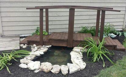 Give Life To A Small Backyard Pond   Small backyard ponds ...