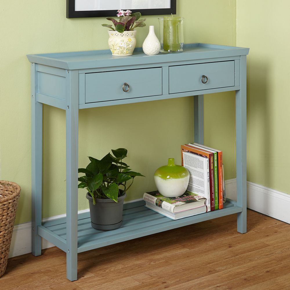 Simple Living Abney Console Table   Overstock™ Shopping   Great Deals On  Simple Living Coffee