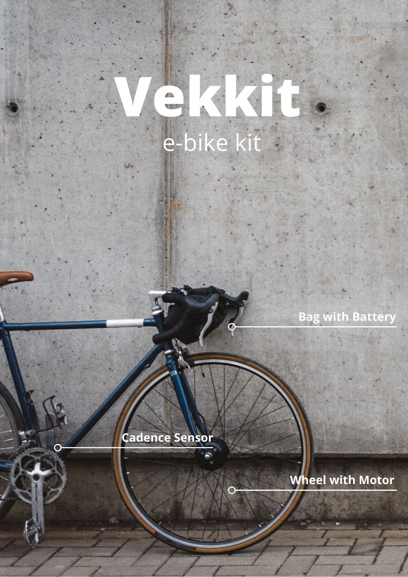 Vekkit Electric Bike Conversion Kit E Bike Kit Bike Bike Bag