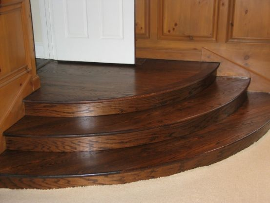 Curved Stairs Treads