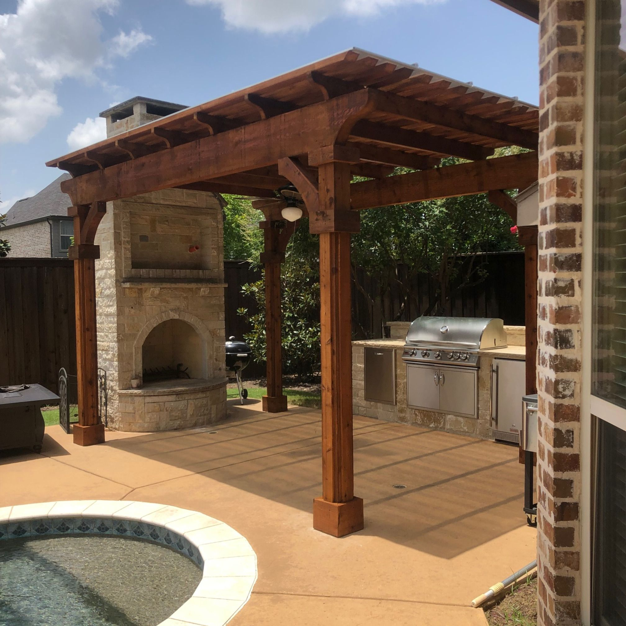 Patio Covers Frisco Tx: Pin By Beautiful Backyard Living On Fire Places In Frisco