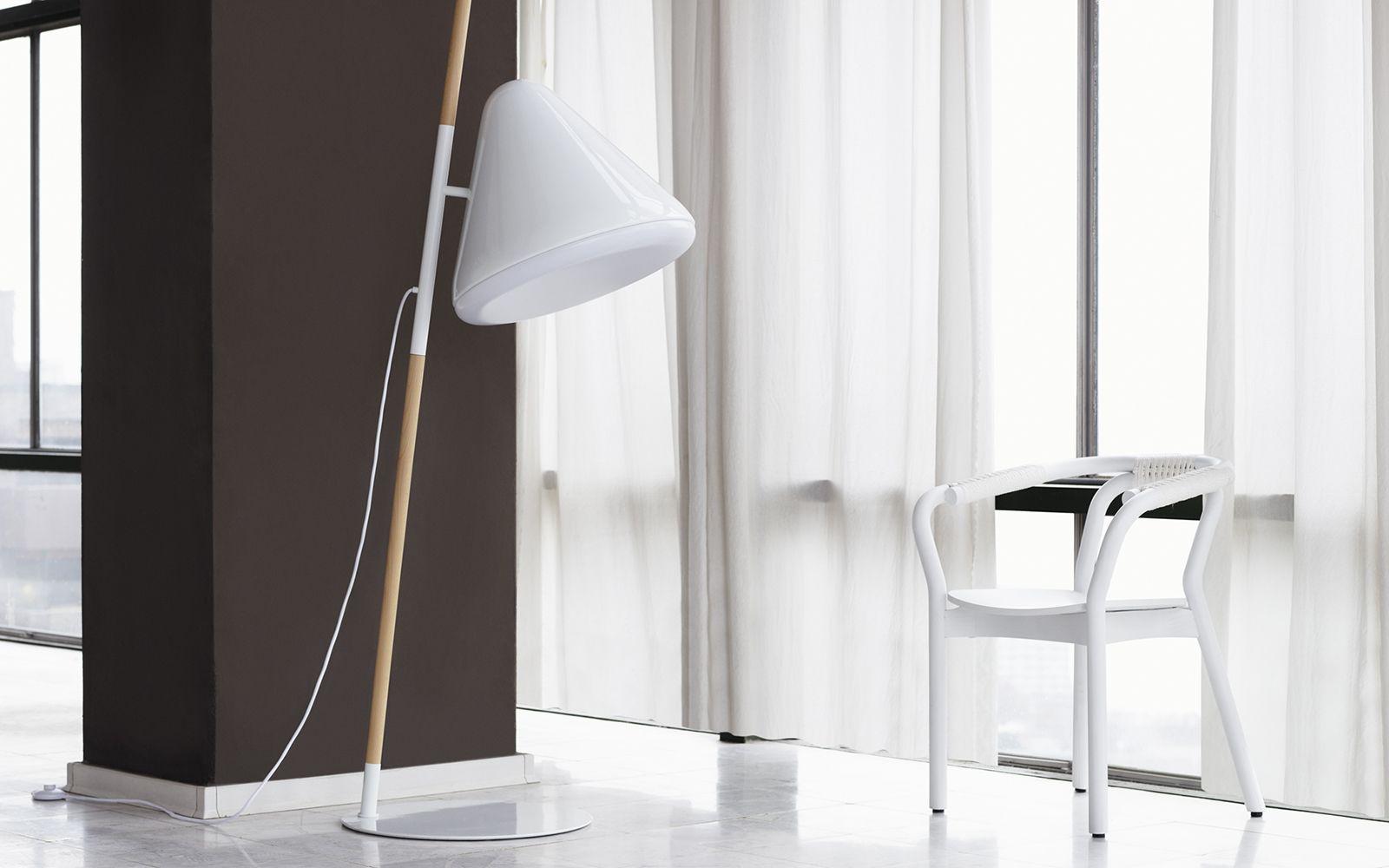 Hello Lamp White Floor Lamp Playfull Design Futuristic Expression Floor Lamp White Floor Lamp Modern Floor Lamps