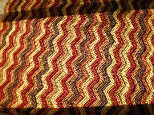 Ripple Afghan Ripple Afghan Knitted Afghans And Afghan Patterns