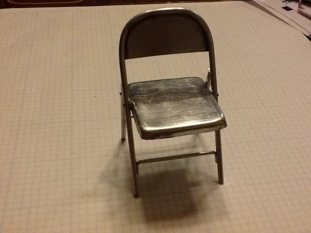 Awesome Madness In Miniatures 1 12 Scale Metal Folding Chair Cjindustries Chair Design For Home Cjindustriesco