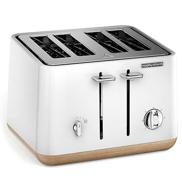 Best 'Aspect' 4 Slice Wood Base Toaster By Morphy Richards In 400 x 300