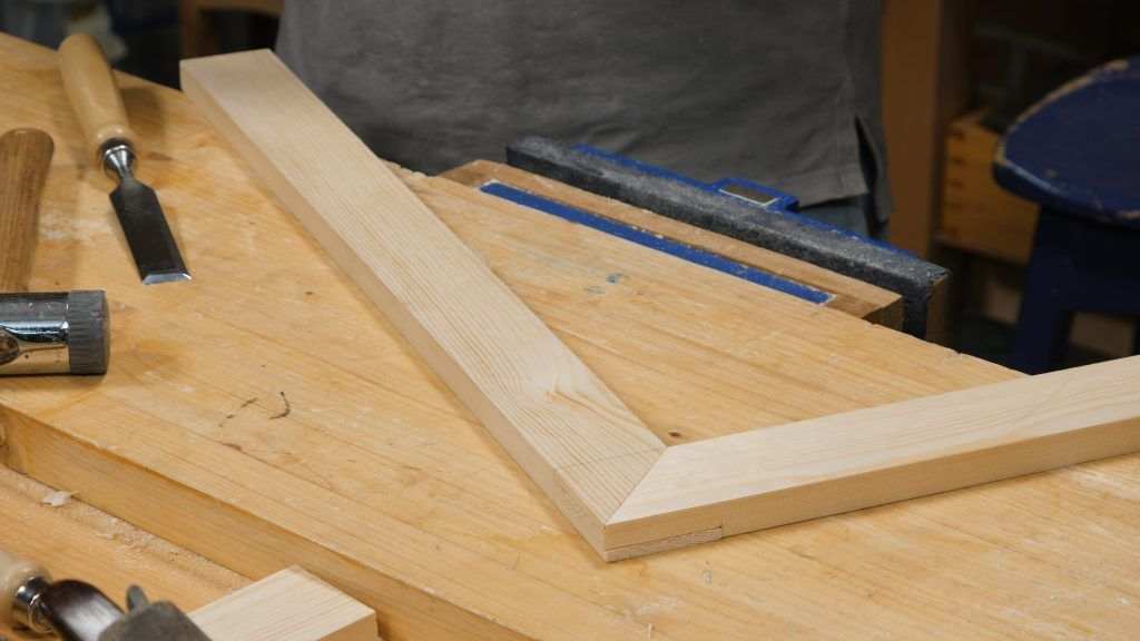 Tenoned Mitre Woodworking Joints Woodworking Mitered