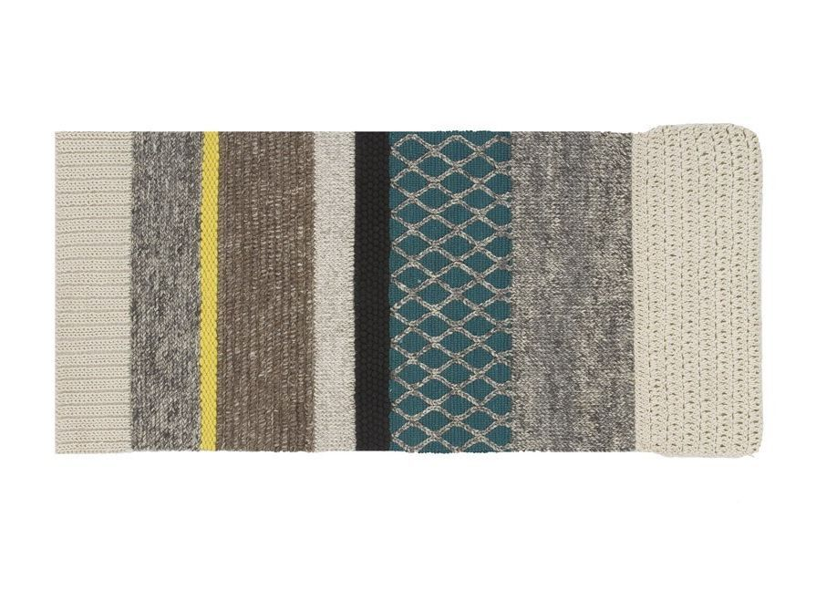 Salon Laine Contemporain Tapis Rectangulaire En Laine Rectangular By Gan Design