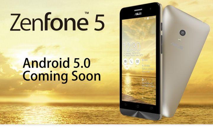 Android Lollipop on Asus Zenfone 5 - Coming Soon #asus #zenfone 5 #androidlollipop