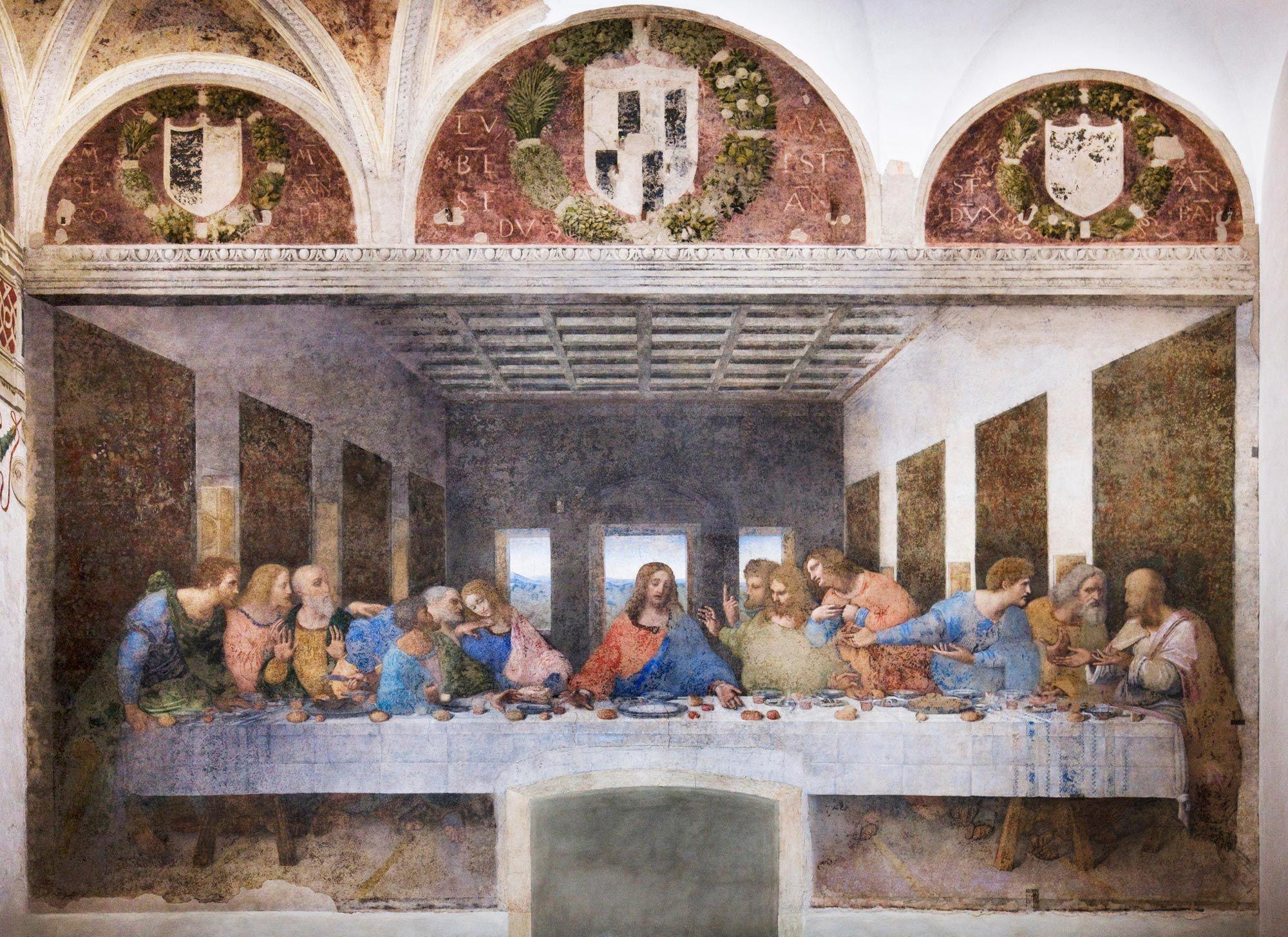 The Last Supper Cenacolo Www Themilanpass Com La Ultima Cena Arte Renacentista Leonardo Da Vinci