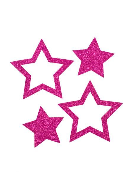 Pastease Hot Pink Glitter Star Pasties Yer The Star Of The Show These Sparkly Af Pasties Feature A Hot Pink Glitter Stars Pink Glitter Pretty Phone Wallpaper
