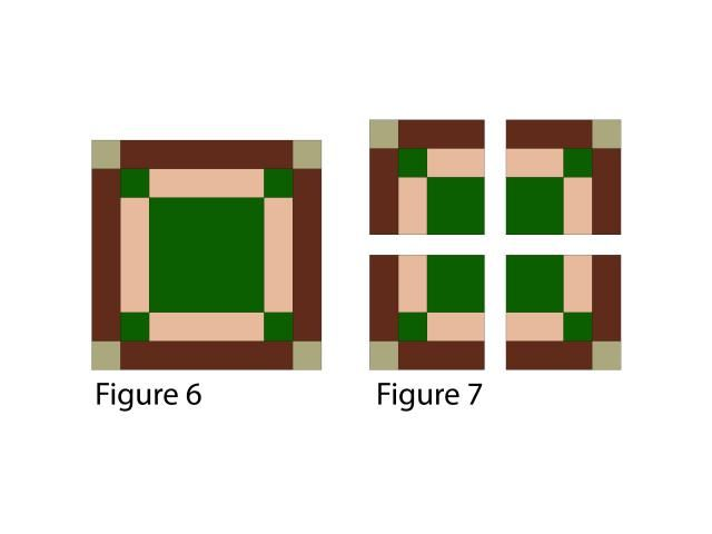 Learn How To Sew Easy Log Cabin Quilt Blocks Quilt Blocks Log Cabin Quilt Blocks Quilt Patterns