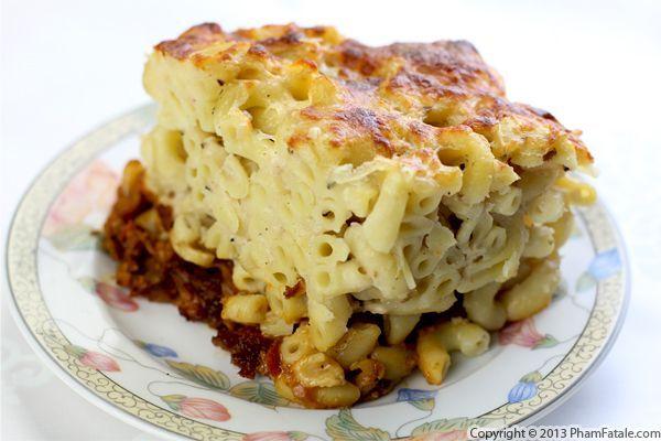 Mac and Cheese Shepherds Pie