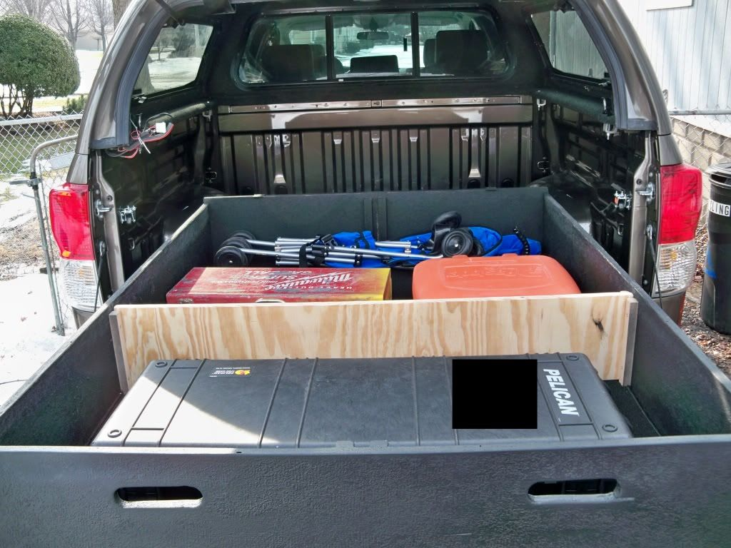 Diy Bed Storage System For My Truck Toyota Tundra Forums