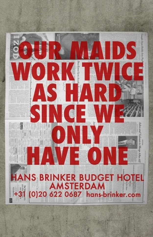 22 Brutally Honest And Hilarious Budget Hotel Adverts