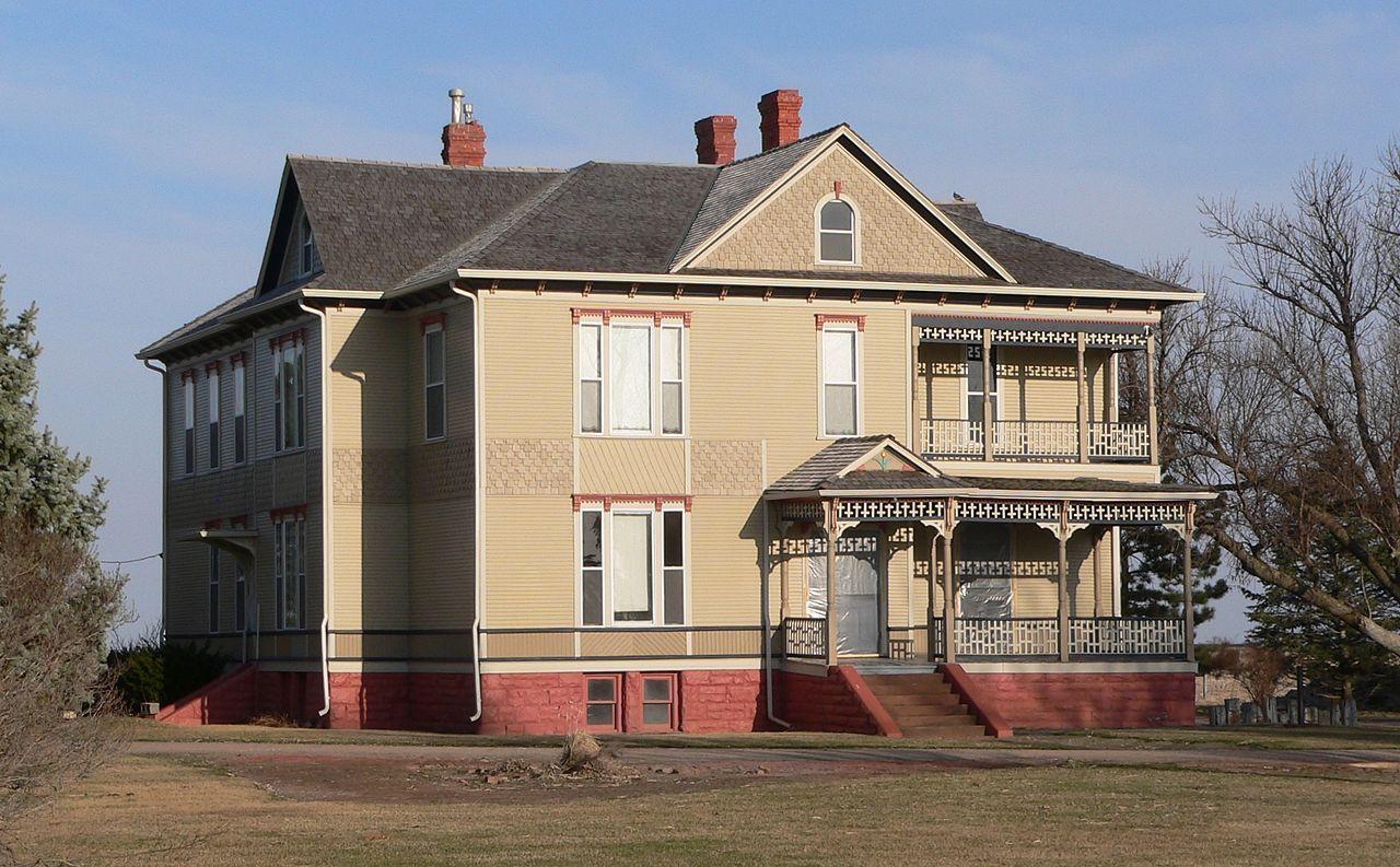 George Meisner House in Buffalo County, Nebraska.
