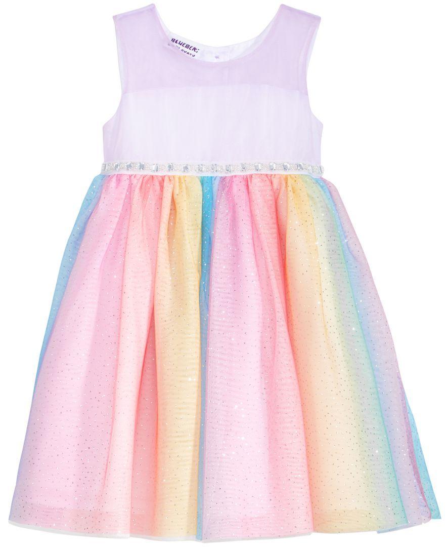 Blueberi Boulevard Glitter Rainbow Skirt Dress Toddler Girls 2t 5t Toddler Girl Outfits Toddler Girl Dresses Toddler Dress [ 1080 x 884 Pixel ]
