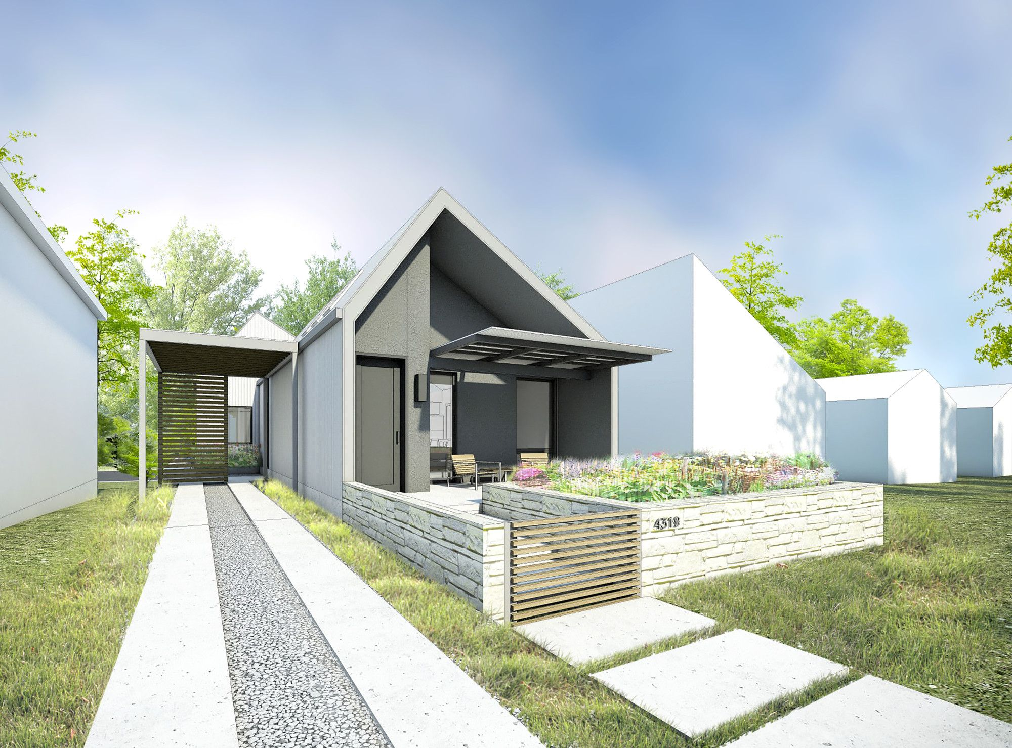 Gallery of make it right releases six single family house designs for manheim park community also rh pinterest