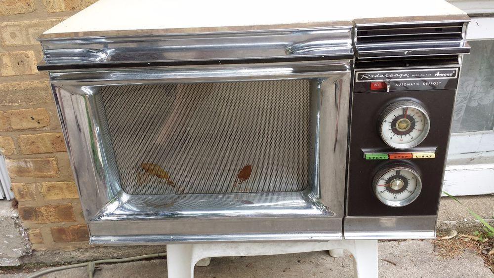 vtg 1970 s amana radarange microwave