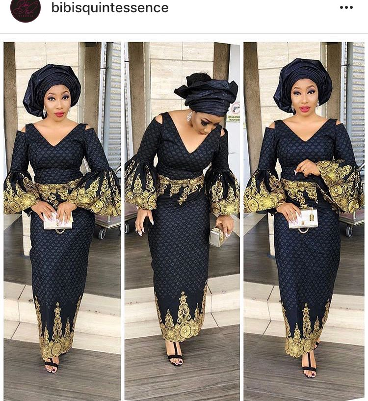 dcd6b6bb026ecb Iro and buns with a twist | African Attire in 2019 | African fashion ...