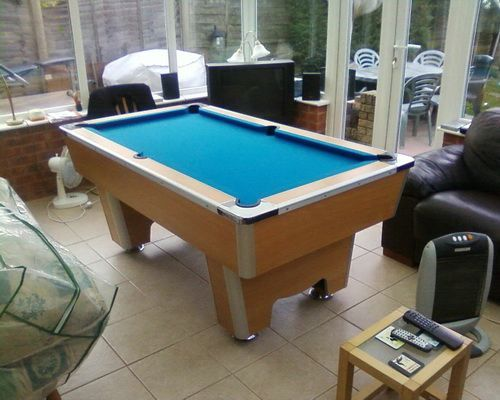 Attractive 6 Foot Pool Table Room Size