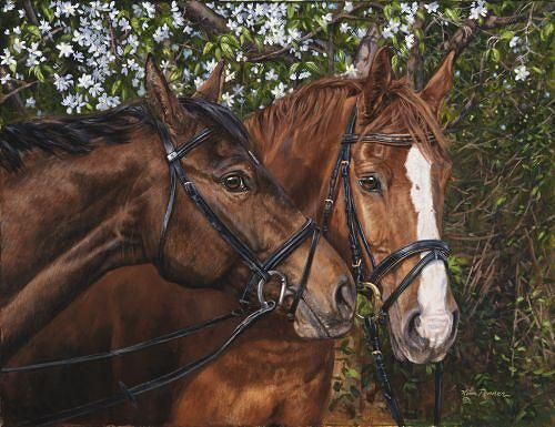 Friends Forever~~By mastering an artistic form of hyperrealism - equine release form