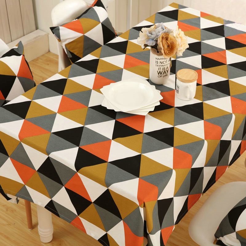 Details About Table Cloth Cotton Canvas Thickening Dining Table