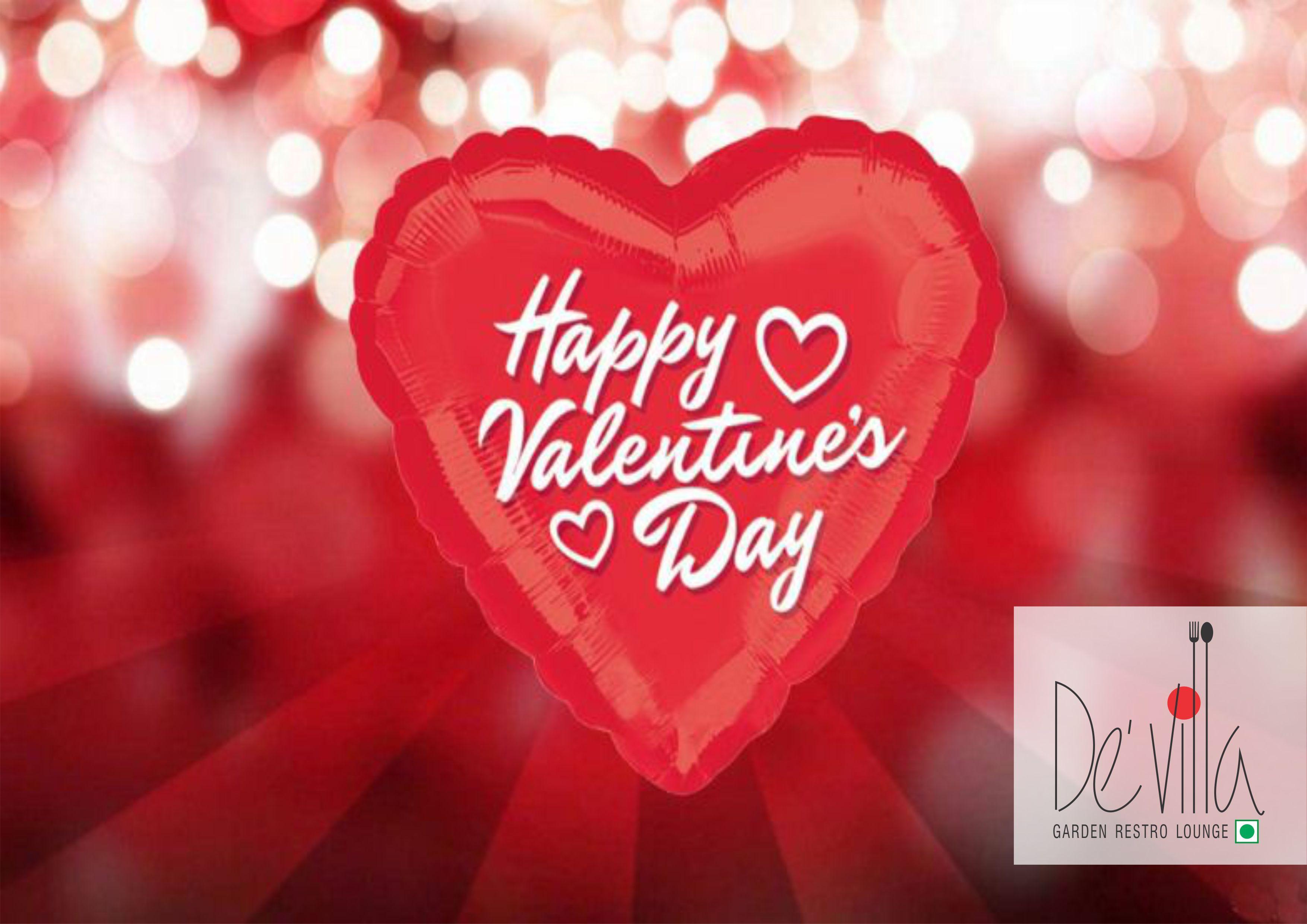 Happy Valentine Day At Devillarestro Surat Food Dinner
