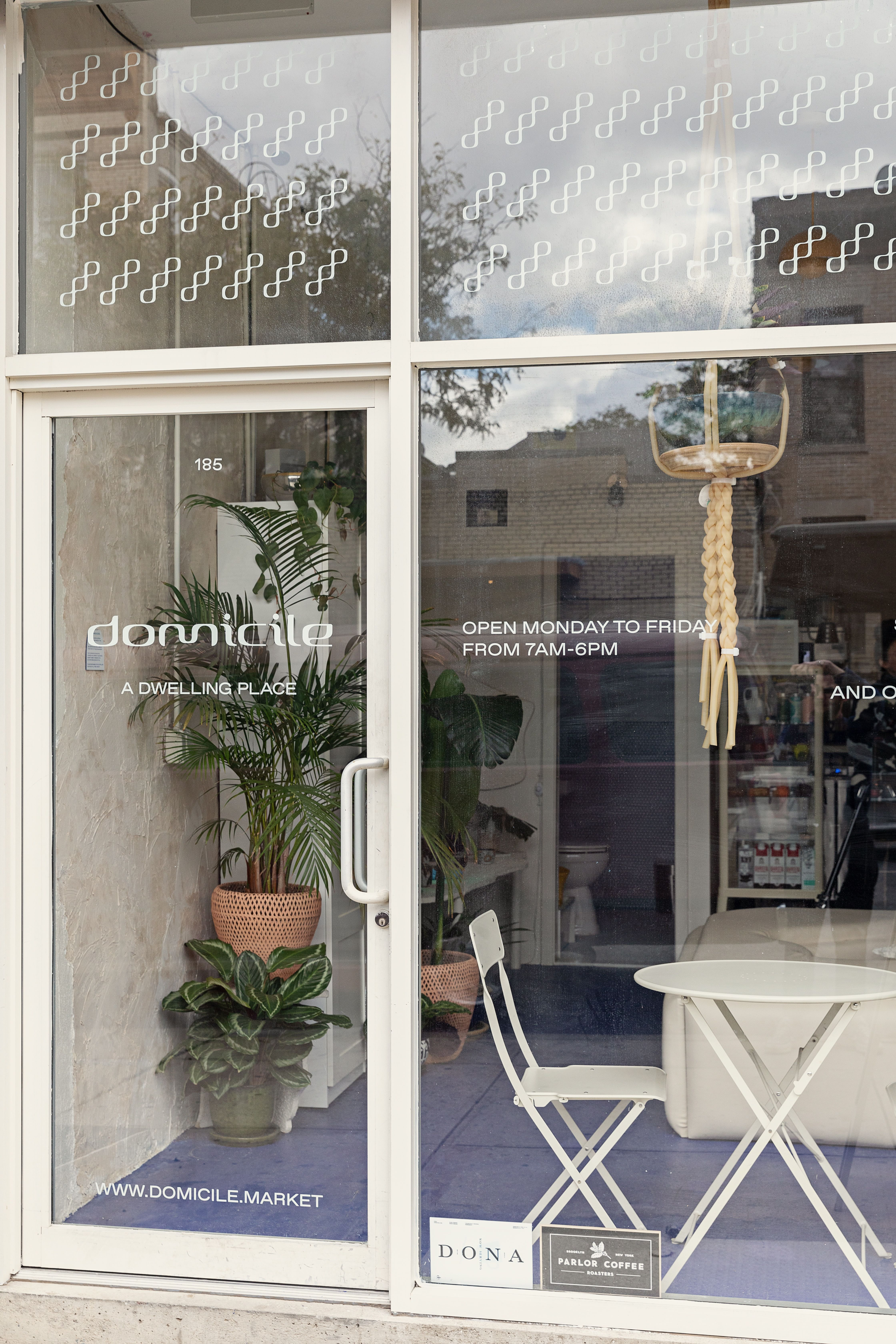 Domicile Cafe Tour - Coffee Shop Brooklyn, New York  Cafe