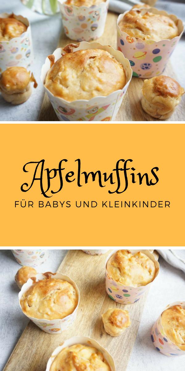 Apfelmuffins Ohne Zucker Rezept Rezepte Muffins Baby Muffins
