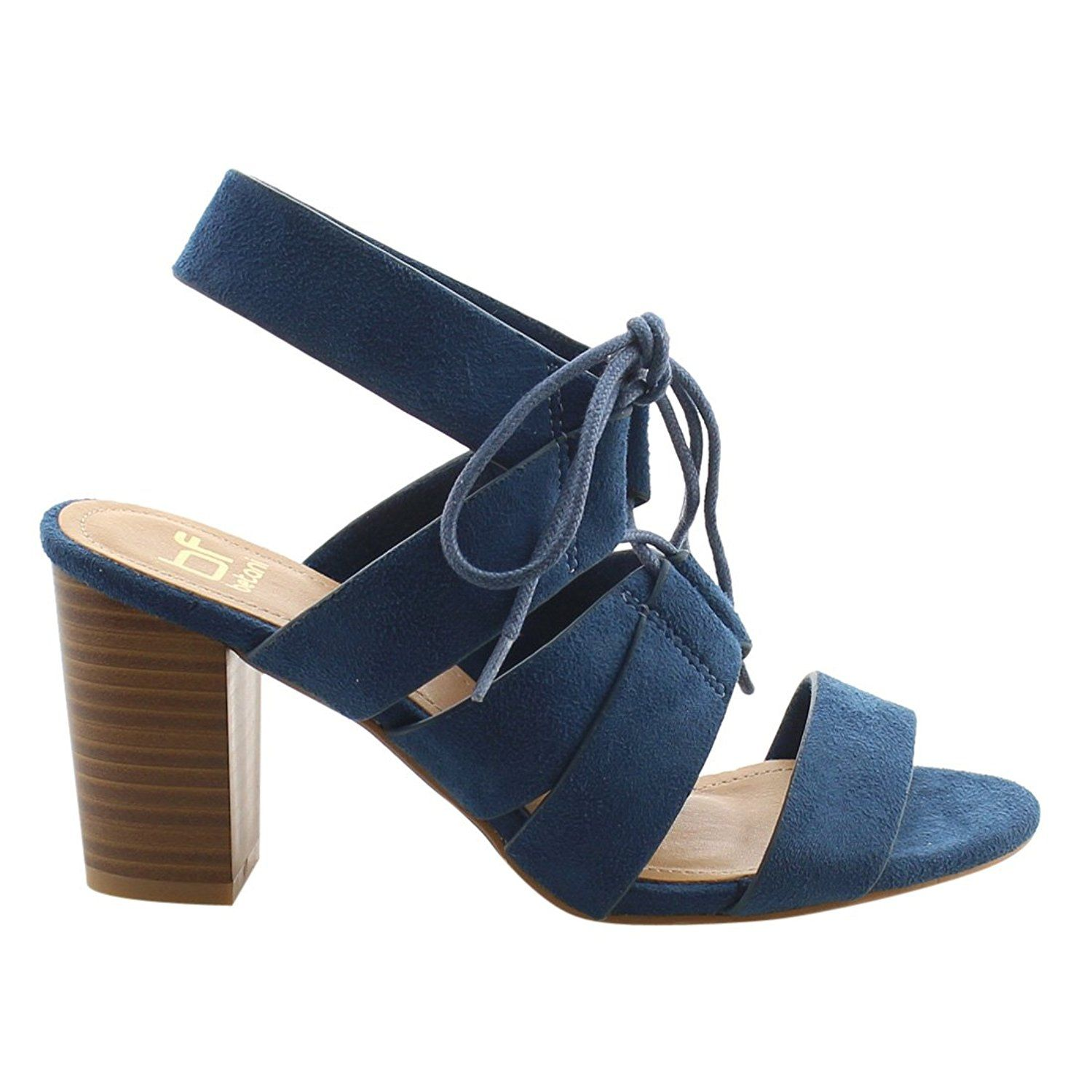 5ad939af286 BF Betani Women s Lace Up Chunky Heel Sandal   Check out the image by  visiting the