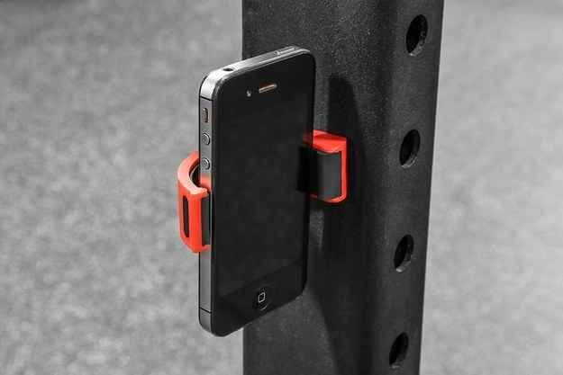 Smartphone mount for recording any lift or movement