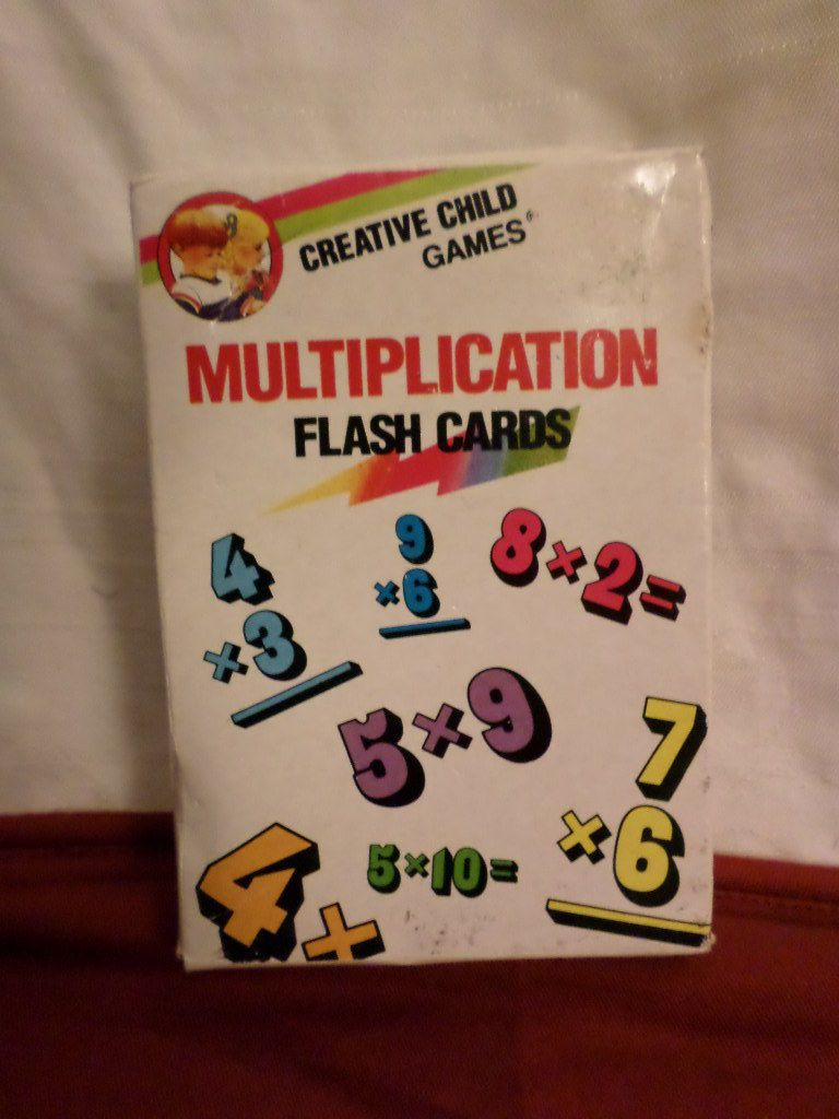 """creative child games """"multiplication"""" flash cards"""