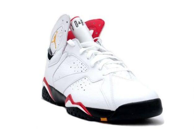 Air Jordan 7 Retro - Cardinals-Cardinal Red-Bronze-White Black $95