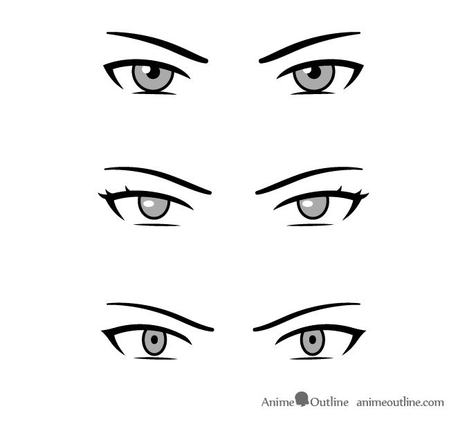 Villain Anime Eyes How To Draw Anime Eyes Manga Eyes Anime Eye Drawing