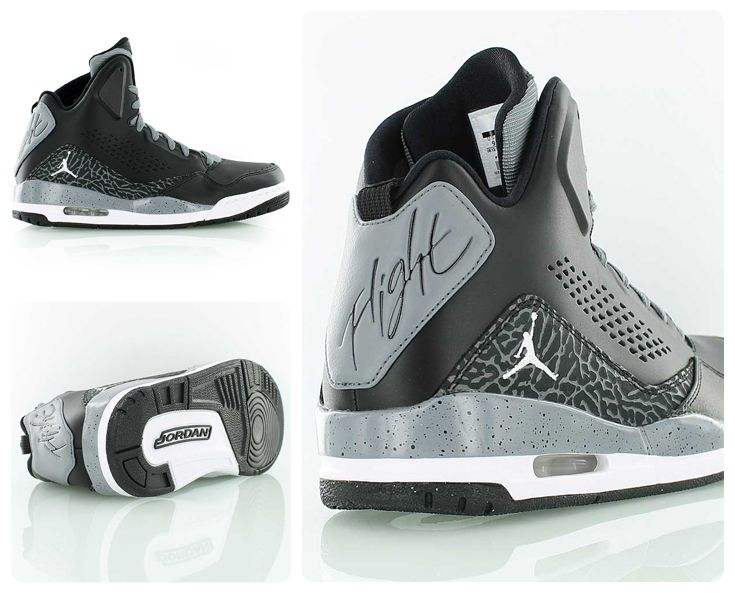 483ad6d97f0 Jordan SC-3 Premium black // Inspired by the legendary Air Jordan III //  including the iconic elephant print