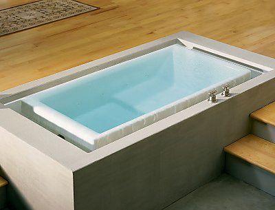 Infinity Edge Bath Tub Vanishing Edge Bathtub Concrete Bathtub