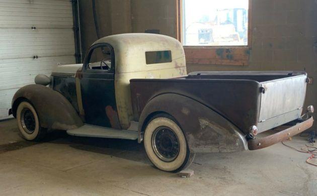 Rare 1937 Studebaker Coupe Express
