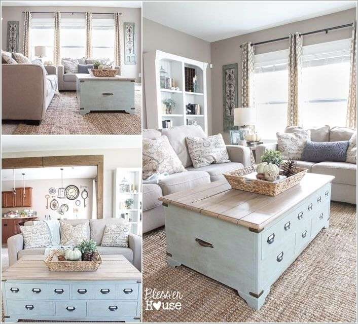 French Country Living Room Coffee Table: 10-things-to-rethink-as-a-coffee-table-for-your-living