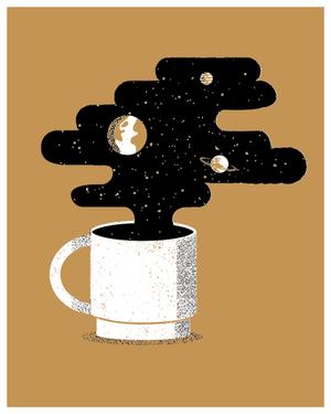 Photo of Illustrated Science – Rocket Fuel — James Olstein Illustration