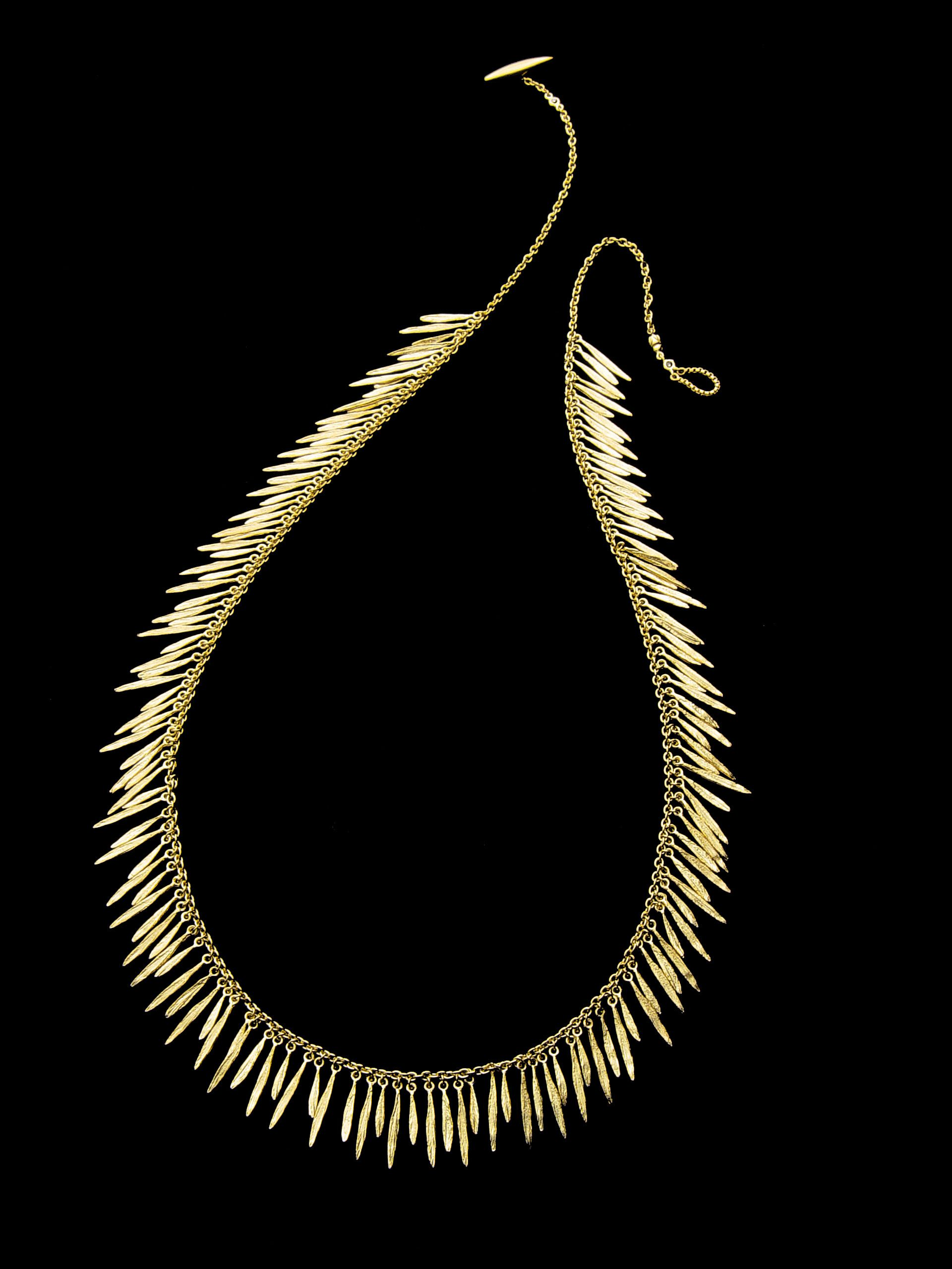 necklace blues brass feathered necklaces collections pendant mexicali