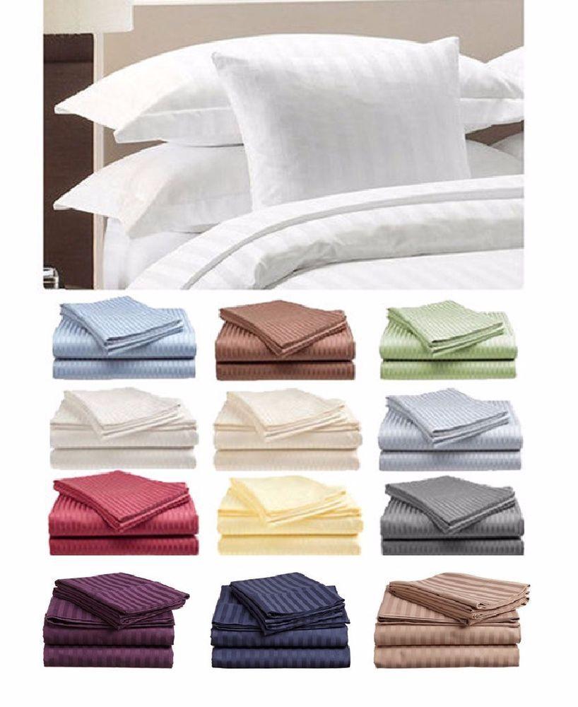 Comfort 1800 Count 4 Piece Deep Pocket Bed KING ~ QUEEN ~ FULL ~TWIN Sheet Set