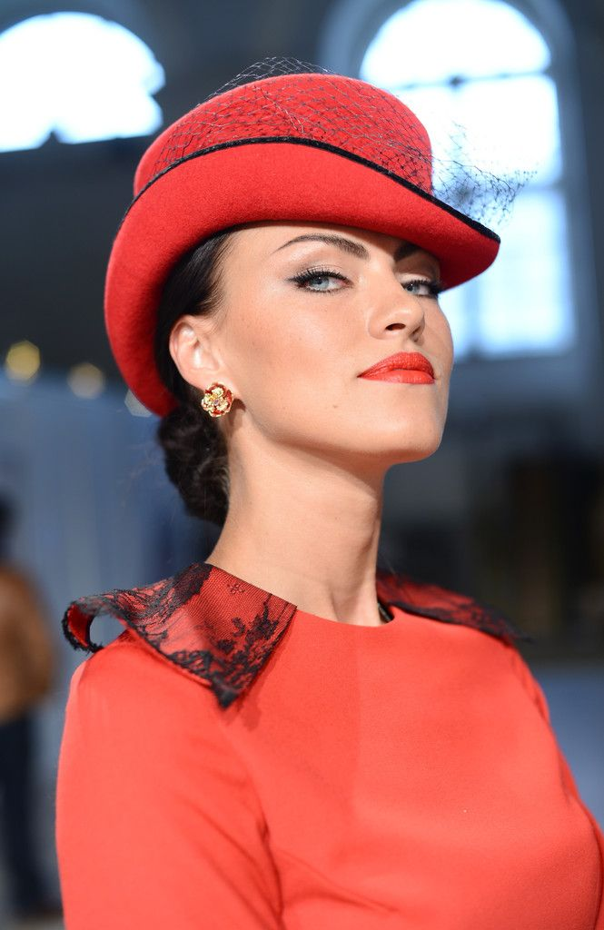 1d6aa1b49b7386 Christian Dior Chapeaux Orange Floppy Hat w/ Feathers, Yarn, & Beads   For  The Love Of Orange