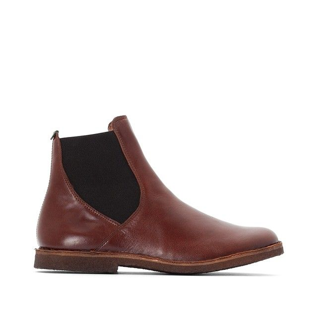 • produit FermetureA Boots KICKERS cuir Tinto Détails m08Nvnw