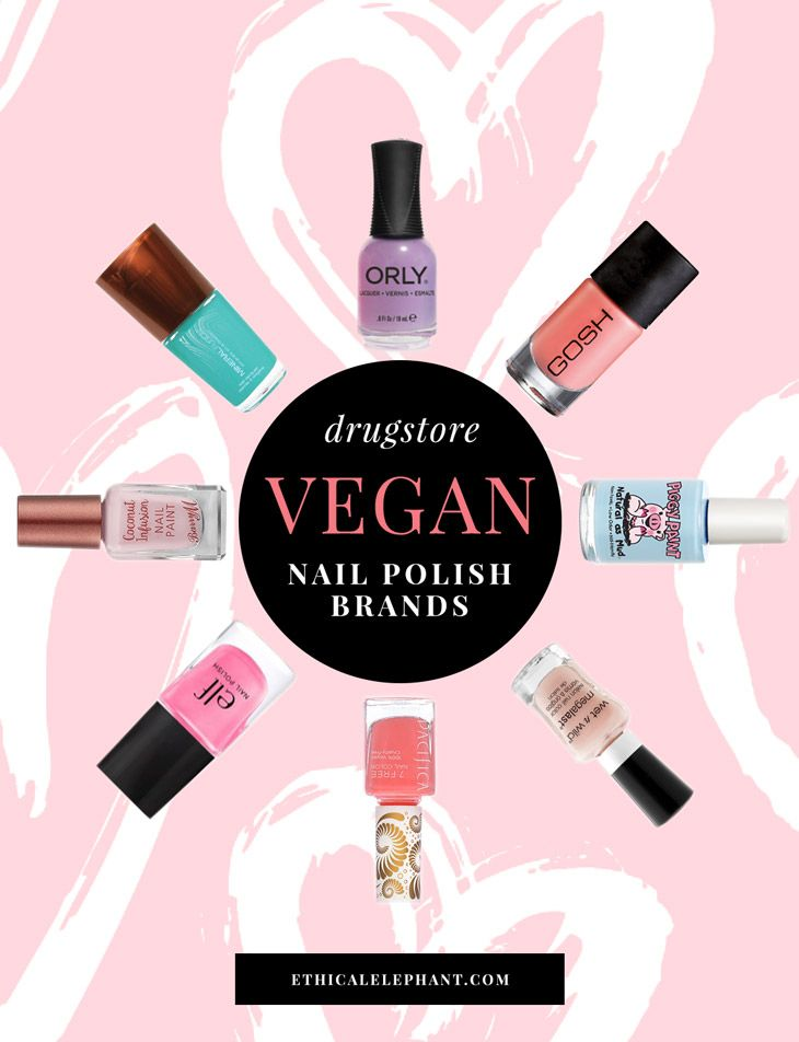 Vegan Drugstore Nail Polish Brands | Vegan nail polish, Cruelty free ...