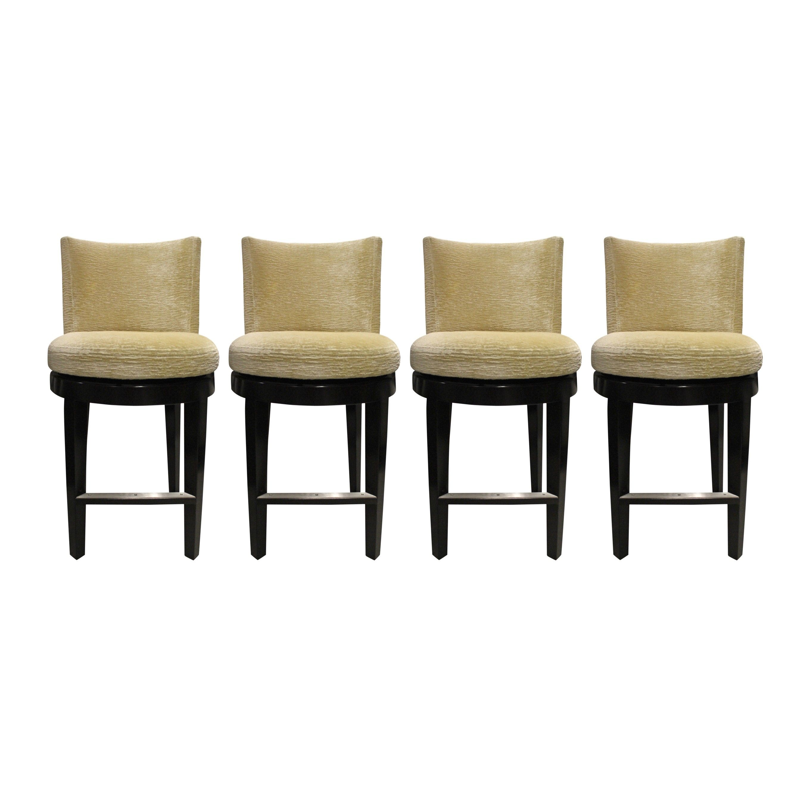 A Rudin 680 Swivel Counter Stools Set With Images Swivel