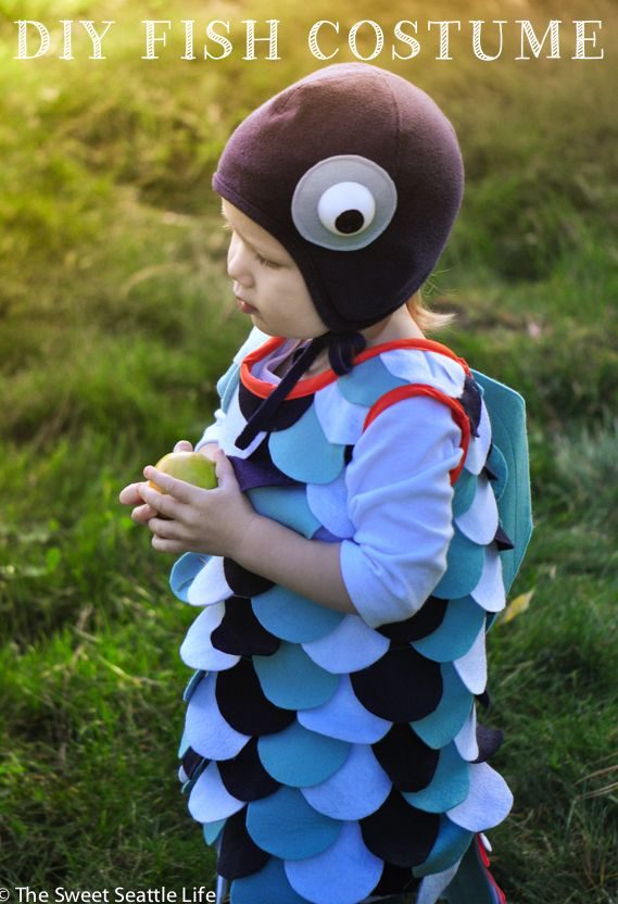 Diy Fish Costume Tutorial For Kids And Toddlers I Made That