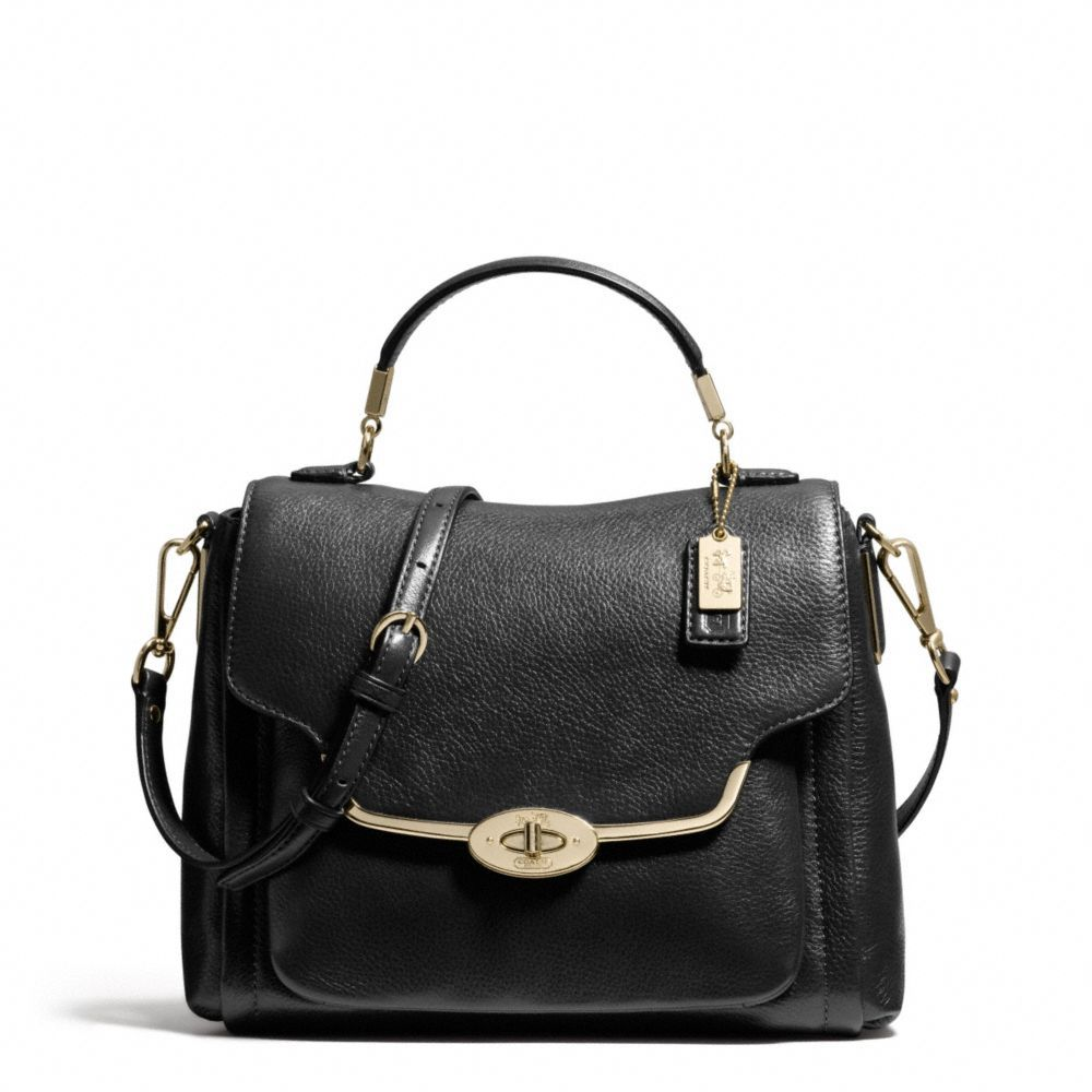 5ab77d7f8f4e ... germany the madison small sadie flap satchel in leather from coach  3d15c e3823 ...
