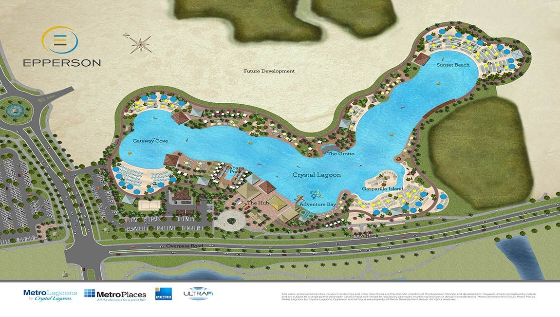 Crystal lagoon epperson ranch interested in finding your for Epperson ranch homes