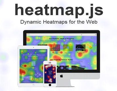 Heatmap js v2 0 is the most advanced heatmap visualization library